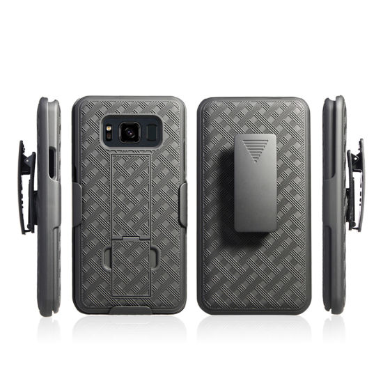 Mobile Phone Accessories Case Hard Belt Clip Kickstand Holster Case for Samsung S8 Active pictures & photos