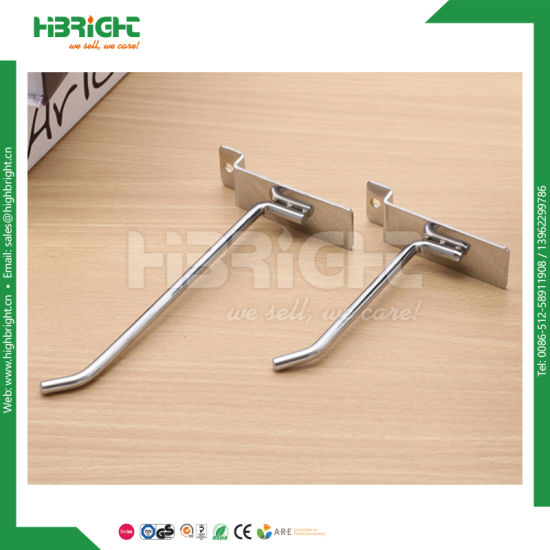 Chrome Metal J Shape Display Hook for Hanging Bag pictures & photos