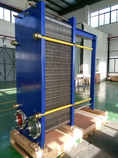 Plate Heat Exchanger for Crude Oil Desalting