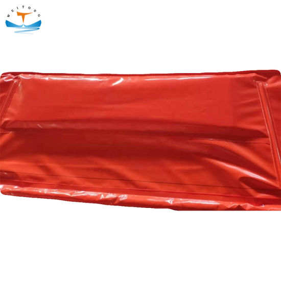 China Solid Float Oil Spill Containment Boom And Pvc Floating Silt