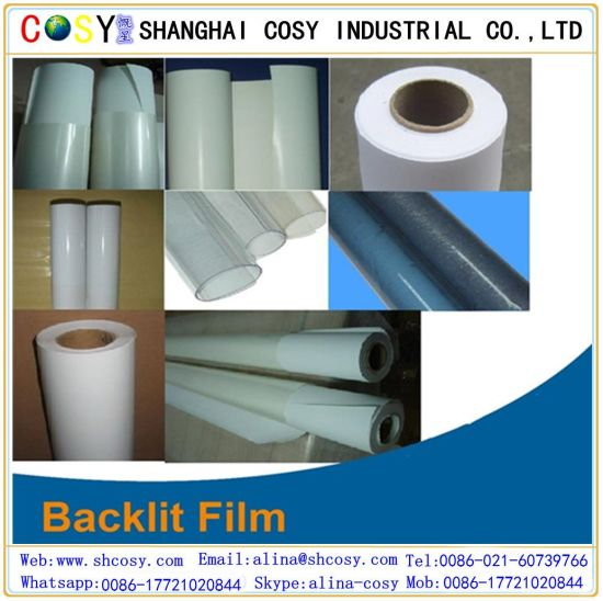 Advertising Pet Backlit Film, Inkjet Printing Media pictures & photos
