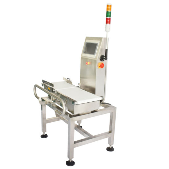 Food Industry Conveyor Belt Weight Checking Machine pictures & photos