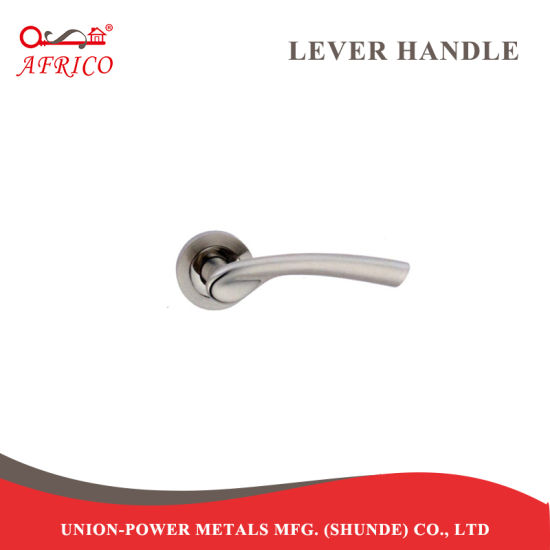 Aluminum Round Rosette Lever Handle for Door Lock Rt1792ss pictures & photos
