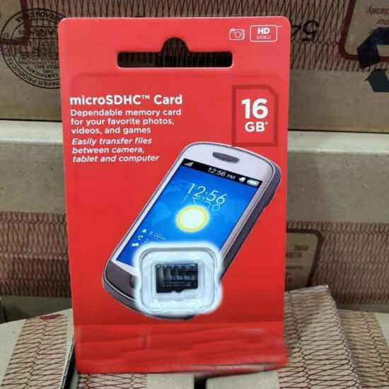 SD/TF Mobile Phone Memory SD Card Full Capacity 16GB 64GB Mini SD Memory Card