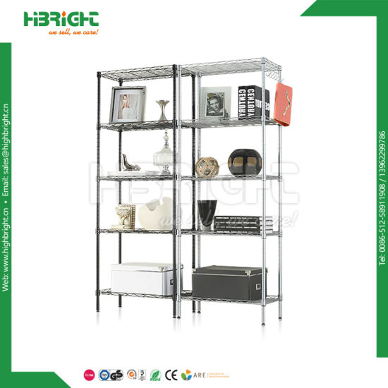 Closet Units Storage Rack Adjust Chrome Wire Shelving