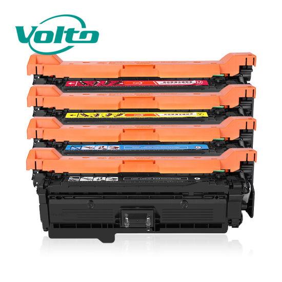 Wholesale High Quality HP Ce251A (504) 51A Compatible Toner Cartridge for HP Color Laserjet Cp3525/Cm3530