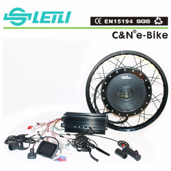 72V 8000W Electric Bike Motor Kits Ebike Conversion Kit
