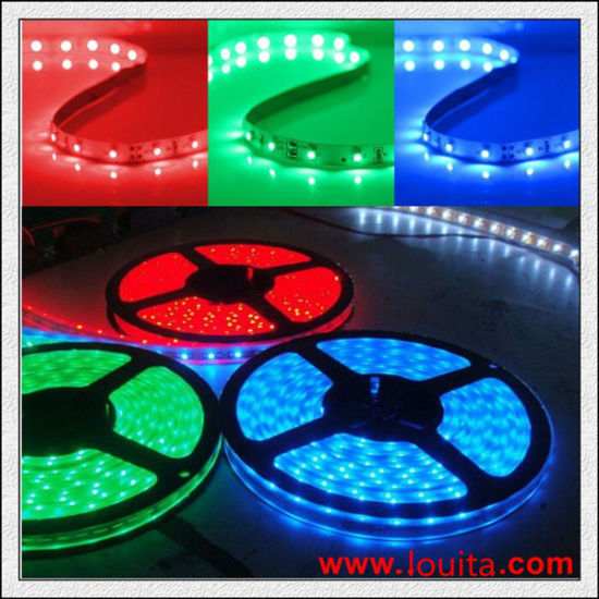 Waterproof DC12V DC24V Flexible RGB LED Strip 5050 pictures & photos