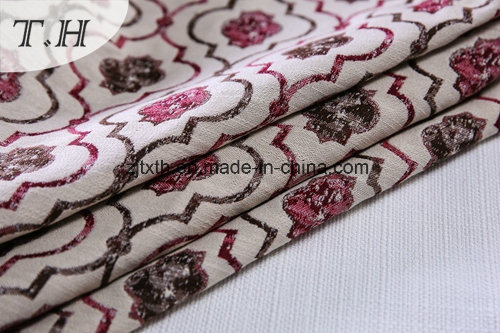 2017 Small Jacquard Pattern Pillow Cover Fabric pictures & photos
