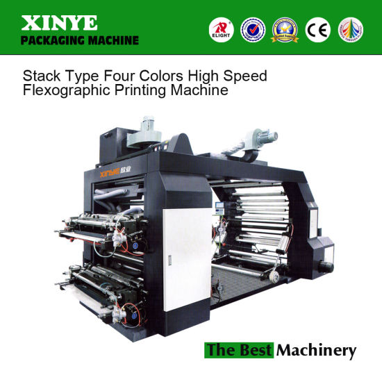 Factory Price Roll to Roll Four-Color Flexible Printing Machine