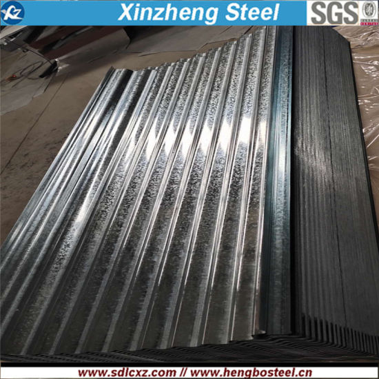 Factory Price Galvalume/Aluminum/Gi/Galvanized Coated Corrugated Steel Sheet for Roofing pictures & photos