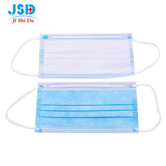 Disposable Face Masks with Comfortable Ear Loop