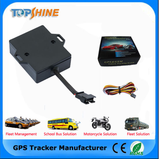 Built in Smart Bluetooth Wiretapping Motorcycles Vehicle GPS Tracker pictures & photos