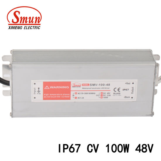 China 100W 48VDC 2A Constant Voltage Switching Mode Power Supply ...