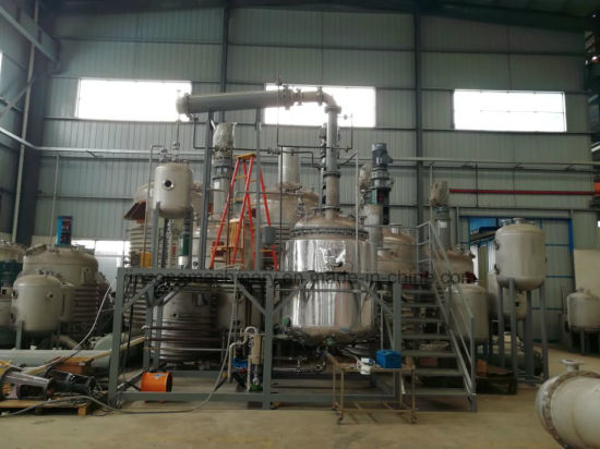 Jinzong Machinery 1000L Unsaturated Resin Reactor Full Production Line