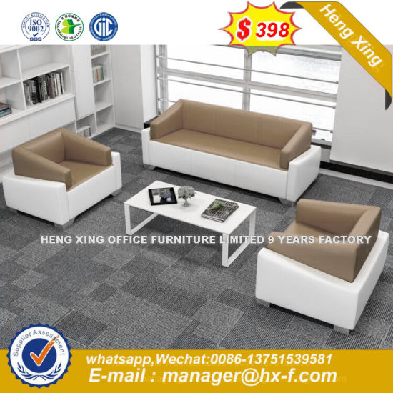 New Design Luxurious Durable Office Leather Sofa (HX 8N0520)