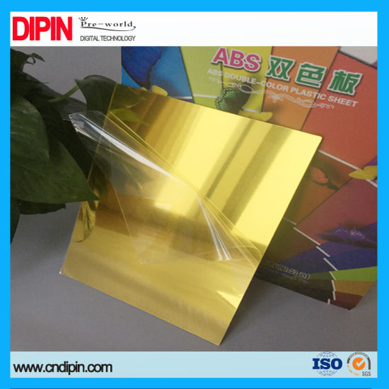 China Color Plastic Mirror Engraving Sheet - China Color Plastic ...
