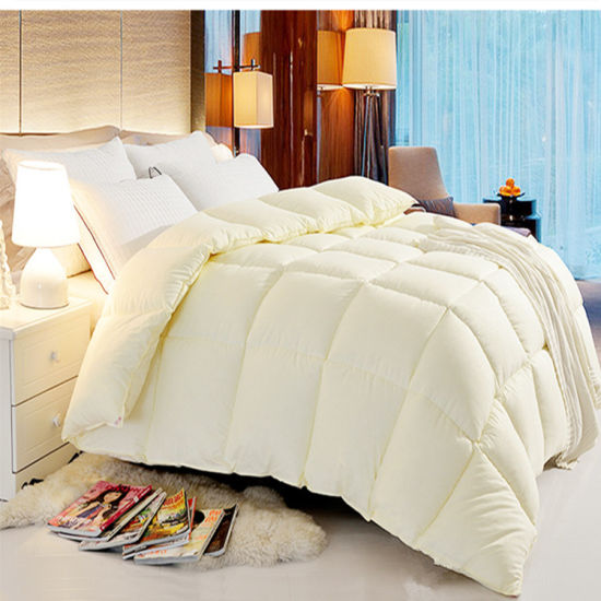 China Wholesale Peach Colored Comforter Sets Microfiber Quilt For