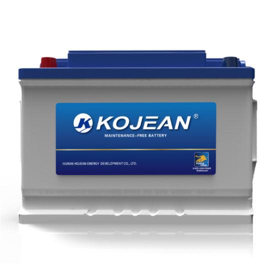 Sealed Mf DIN75 57540 12V 75ah Maintenance Free Lead Acid Automotive Car Battery