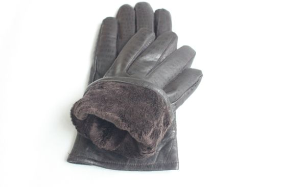 Winter Fashion Lady Leather Gloves