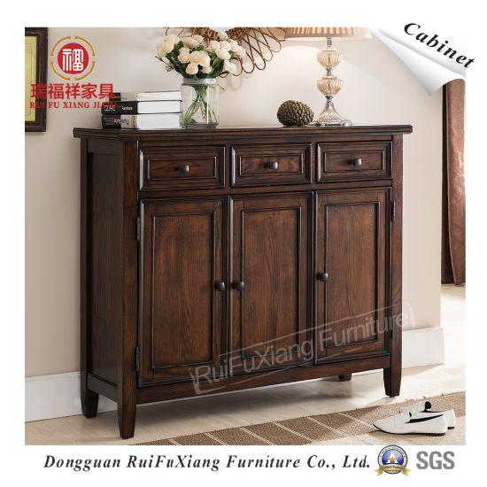 Ruifuxiang Oak Wood Cabinet For Shoes (AL330)