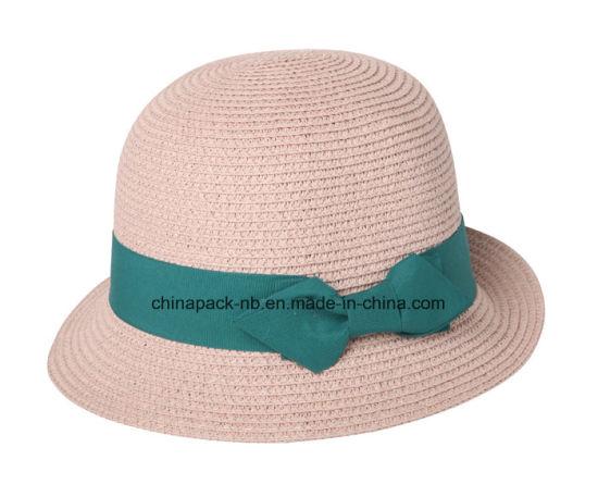 ed33c60c6fc China Summer Woman′s Sun Hat Fashion Straw Hat Sea Beach Bucket Hat ...