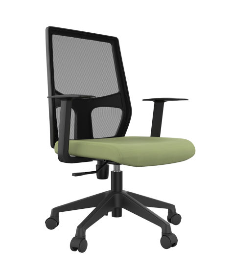 Traditional Economic Swivel Lift Small Office Mesh Computer Chair pictures & photos