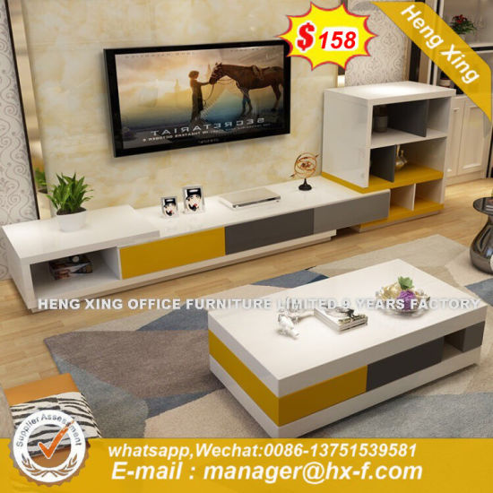 Intelligent Design Transparent Standard Size TV Stand (HX-8NR2422) pictures & photos