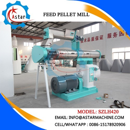 Single Layer Conditioner Cattle Feed Making Machine (SZLH420) pictures & photos