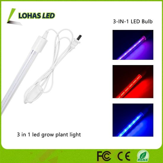 Led Grow Light T8 Growing Plant Growth Lamp Red Blue Spectrum Indoor Hydroponic Garden Greenhouses Flowers