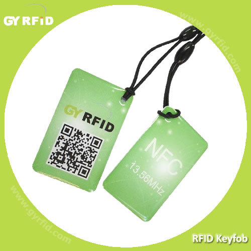 NFC Keyfobs, RFID Keyfobs with Logo Printed pictures & photos