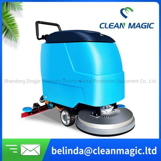 Clean Magic DJ520 Hand Push Floor Washing Machine Floor Cleaner Cleaning Machine Industrial