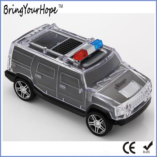 High Quality Police Car Design Portable Bluetooth Speaker (XH-PS-690)