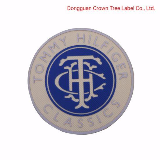 Circular Weaving and Silk-Screen Printing Woven Badge