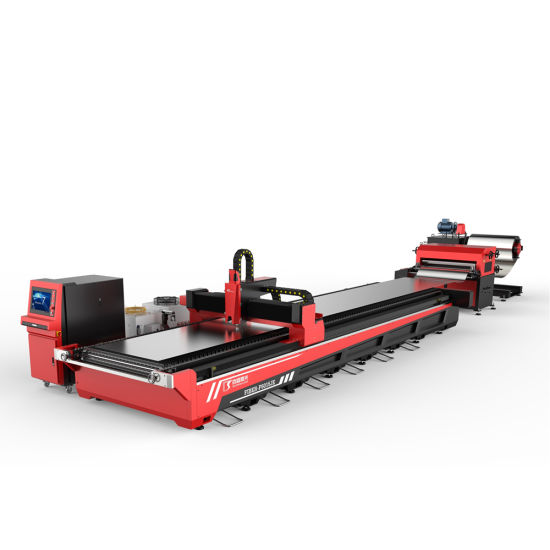 High Precision Coil Fiber Laser Cutting Machine for Thin Aluminum Stainless Steel