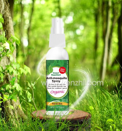 Deet Fee Natural Oil Mosquito Repellent Spray Repelling Insect