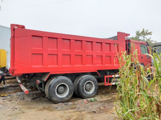 Used HOWO Dump Truck in Perfect Working Condition with Low Price. Secondhand HOWO 6*4 375HP Dump Truck on Sale