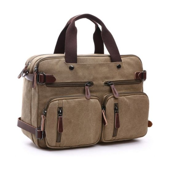 Custom Travel Hand Bags Wholesale Vintage Messenger Bags & Men Canvas Handbag