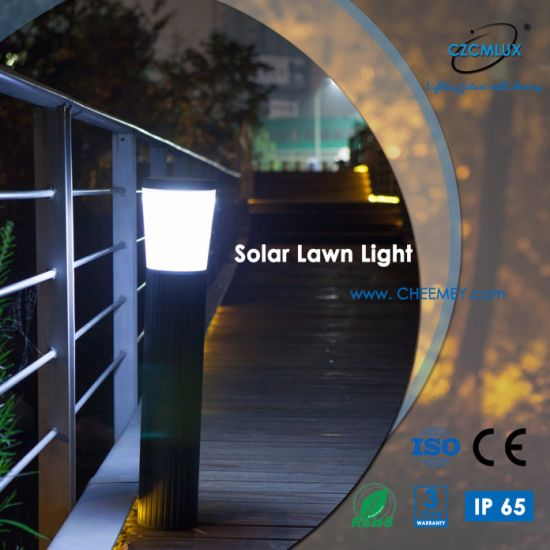 1.8W Intelligent LED Solar Lawn Lamp with Lithium Battery