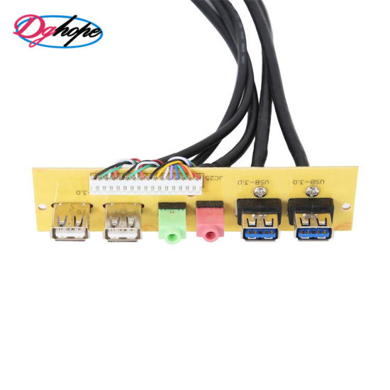 PC Chassis Front Panel Cable Dual USB 3.0/2.0/Audio Panel Interface