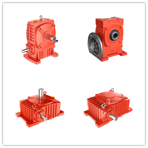 Wpa Wpo Wps Wpx Right Angle Foot Mounted Cast Iron Worm Motor Speed Reducer Gear Unit Gear Box