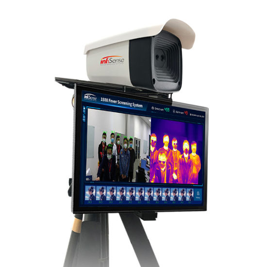 Fs256PRO Dual-Vision Human Body Temperature Measurement System Infrared Thermal Camera