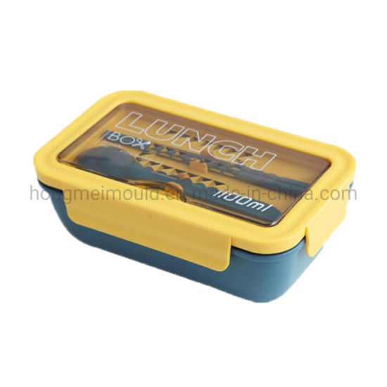 Hongmei Plastic Injection Mould Professional Manufacture Food Container Mould Plastic Lunch Box Mould with on Time Delivery
