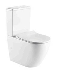 Australian Standard Watermark Two-Piece Rimless Toilet with Adaptor (LT2141A-R)