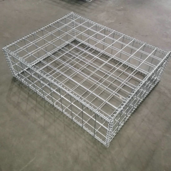 Heavy Zinc Coated Welded Gabion Box for German Market