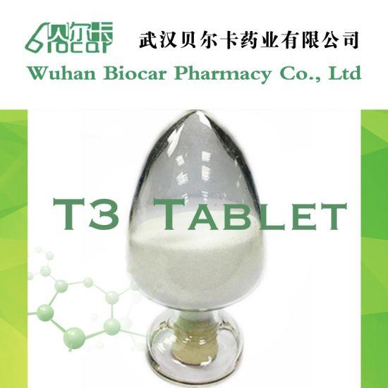 Endocrine System Agents Liothyronine Sodium T3 Powder CAS 55-06-1 Wholesales