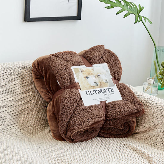 Solid 100/% Cotton Soft Decorative Knitted Blankets for Couch 4 Sizes /& 7 Colors