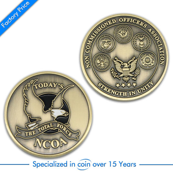 OEM Custom Police/Challange/Souvenir/Memorial Printed Liberty Coin pictures & photos