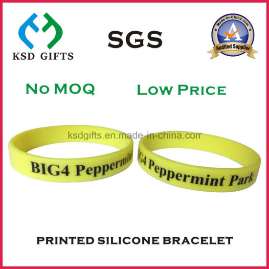 Customized Adults Size Wristbands, Give Away Promotion Gifts pictures & photos