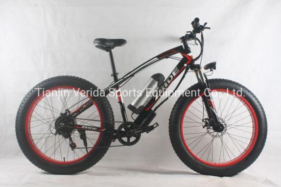 21speed 26inch Steel Fat Tire Electric Bike
